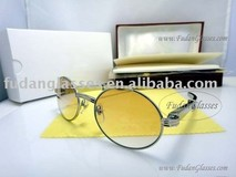 high quality name brand sunglass stainless steel sunglass CT 1937716 silver brown lens