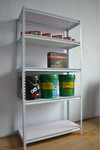 linyi rivet shelves/angle steel shelves