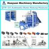 Small automatic fly ash brick machine,auto brick machine QT4-15 brick making machines sale in kenya