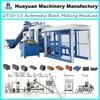 Hydraulic manual interlocking brick machine price QT10-15 full automatic interlocking brick making machine (hot sale in Africa)