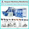 2013 Newly high capacity of fly ash brick making machine QT8-15 fly ash brick making machine in india price