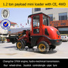 4WD,1.2 ton,very nice appearance bucket for wheel loader