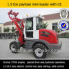 Easy startup and hot sale zl15 compact wheel loader