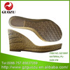 Women PU sandal sole manufacturer from China