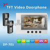 7inch color TFT Video Door Phone for villa/video intercom DP-701