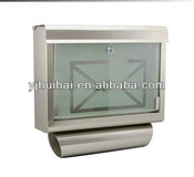 wall mounted mailbox, letterbox, postbox