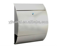 outside lockable wall mounted mailbox