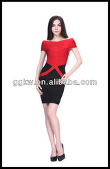ebay evening dresses,Guangzhou bandage dress supplier,red fashion show dress
