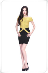 GGKW cap sleeve bandage dress cocktail dress evening dress for 2014