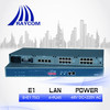 SNMP based Ethernet to 8E1 Converter with 4 Copper Ethernet Ports(75ohm,AC/DC)