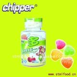 100g multi- vitamine heart sweet candy