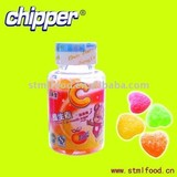 100g vitamine C gummy candy with fruit flavour