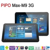 """Newest Pipo M9 Pro 3G RK3188 Quad Core 10"""" Tablet PC IPS Screen 2G RAM 1.8GHZ Android 4.2 Dual Camera 32GB Bluetooth"""