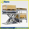 Marcolift pallet handler stationary/hydraulic/scissor lift table
