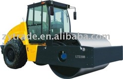 heavy duty single drum vibratory road roller