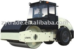 smooth tyre drive vibratory road roller