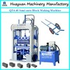 QT4-40 Semi-automatic fly ash brick making machine