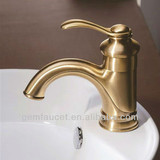 single lever bathroom antique faucet