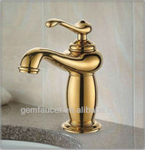 single lever bathroom antique water faucet