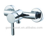 Single handle brass bathroom shower mixer