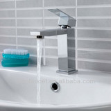25mm single lever square basin faucet