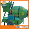 500L cellular hand operated concrete mixer with lift