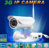 H.264 P2P camera 3g ip camera 3g camera with sim card motion detection, night vision, Android iPhone app