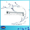 standard brass shower arm with round flange chrome LWA-09004