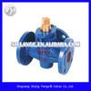 cast iron three-way plug valve