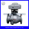 2 piece flanged type electric floating ball valve