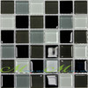 Newest crystal glass mosaic tile supply QA020