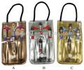 4pcs girls portable manicure kit XT004