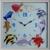 Polyresin table clocks digital world time clock