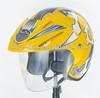 JinHua HD colorful open face motorcycle helmet HD-50W