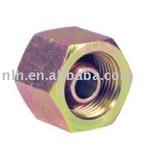 Hydraulic fittings BSP female 60 degree cone plug