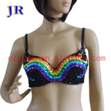 Cheap belly dance bra Mei Shu Lan Na Bra YD004#