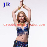 Indian belly dance costumes hot sexy girls bra sets photos Mei Shu Lan Na Bra YD037#