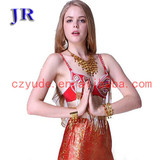 Besutiful Hot belly dance bra Mei Shu Lan Na Bra YD026#
