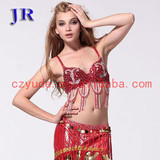Fashionable belly clothes belly dance sexy ladies' bra Mei Shu Lan Na Bra YD030#
