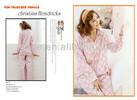 Women two piece pajamas cotton pajamas