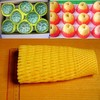 foam mesh sleeve  fruit packing
