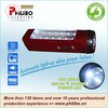 Rechargeable portable LED flashlight