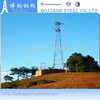 galvanized steel communication towers