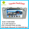 Capacitive Touch Screen LCD In Dash 2 Din Car Head Unit GPS DVD Player TV 1Ghz Android WIFI 3G For Ford Toyota Camry