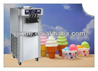 3 flavors soft ice cream making machine