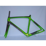 RB-NT10 bicycle parts carbon frame 12k carbon 48-56cm cycling road frame(pearl green)