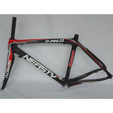 RB-NT10  bicycle parts 12K carbon fiber bicycle frame carbon cycling road 48-56cm frame(red and black)