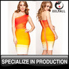 Women Clothes Celebrity Wholesale Bandage Dress Bright Color Great Quality One Shoulder Bandage Dresses