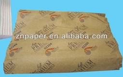 Embossed Biodegradable Logo Paper Towel