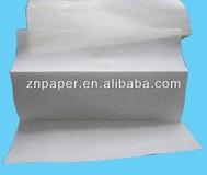 Embossed N-fold hand towel paper